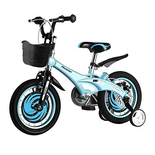 WYX Kinderfahrräder für Kinder 12/14/16 Zoll Männer und Damenräder 2-8 Jahre Alte Kindergarten-Bikes Outdoor Sports Bikes Kinder,14inches