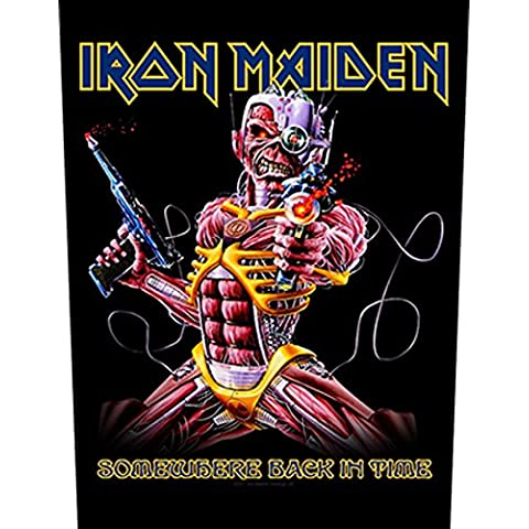 IRON MAIDEN     SOMEWHERE BACK IN TIME  Backpatch - Iron Maiden Somewhere In Time