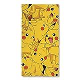 Pokemon Boom Pikachu Handtuch, Baumwolle, Gelb, 140x 70x 2cm