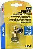 LAMPA Adattatore in ottone per pompa gonfiaggio