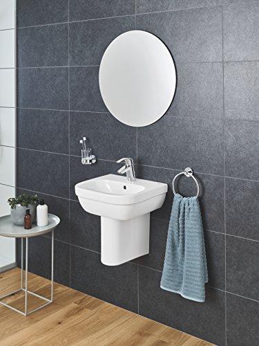 Grohe Eurosmart Waschtischarmatur, mit Zugstange, S-Size, Wasserhahn, Armatur, Waschtischarmatur, Waschbecken, Mischbatterie, Wasserkran (33265002) -