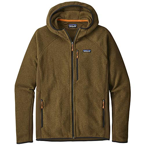 Patagonia Herren Fleecejacke Sweater Hooded Fleece Jacket (Patagonia-hooded Fleece)