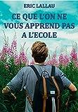 Telecharger Livres CE QUE L ON NE VOUS APPREND PAS A L ECOLE CONFIDENCES D UN CHEF D ETABLISSEMENT (PDF,EPUB,MOBI) gratuits en Francaise