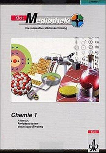 Klett-Mediothek Chemie 1: Atombau, PSE, Bindung. CD-ROM für Windows ab 98/Mac OS ab 8.1.  (Lernmaterialien)