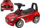 Rutschauto Mercedes-Benz SLS AMG Lizenz Rutscher Kinderauto Rutschfahrzeug (rot)