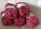 Cotton Quick Gründl Wolle 100 % Baumwolle 50 g Farbe 235 - fuchsia-rot