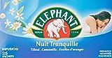 Elephant Infusion Nuit Tranquille 100 Sachets (Lot de 4 x 25 Sachets)