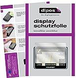 dipos I 3X Schutzfolie klar passend für Blaupunkt TravelPilot 55 Active Truck Camping Folie Displayschutzfolie