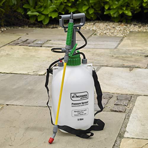 Kingfisher PS4003 Pump Action Pressure Garden Sprayer,5 Litre