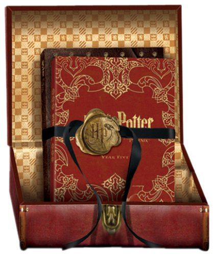 Click for larger image of Harry Potter: Limited Edition Gift Set - Years 1-5 Special Editions, DVDi Game & Bonus Disc (12 Disc Box Set)