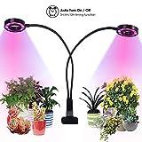 Upgrade LED Grow Light - Dual Head Grow Lamp for Indoor Plants, Auto