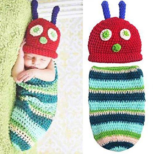 Kostüme Girl Cute Country (Cute Cartoon Baby Bodys für Jungen Mädchen Baby Crochet Beanie Hat)