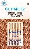 5 Schmetz Jersey Universal 130/705H SUK Nähmaschine Nadeln Flachkolben Stärke 70-90