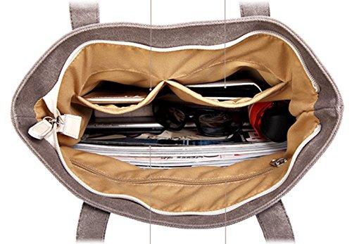 Keshi Leinwand neuer Stil Damen Handtaschen, Hobo-Bags, Schultertaschen, Beutel, Beuteltaschen, Trend-Bags, Velours, Veloursleder, Wildleder, Tasche Light Grau