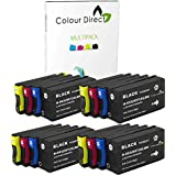 16 (4 Ensembles) Colour Direct Compatible Cartouches d'encre Remplacement Pour HP 953XL/957XL - HP Officejet Pro 7740 8210 8218 8710 8715 8716 8718 8720 8725 8728 8730 8740 Imprimantes ( L0S70AE F6U16AE F6U17AE F6U18AE )