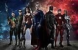 Dc Comics Justice League Wallpaper Super-héros Fond D'écran Beauté Amateur Chambre Murale (H) 400 * (W) 280cm un