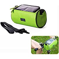 Candora ™ Bicicletta pieghevole anteriore per bicicletta manubrio per borsa, zaino impermeabile in PVC trasparente Pouch Vis Zaino Outdoor Mappa per iPhone, Samsung Galaxy e Altro