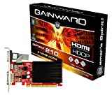 Gainward GeForce GF210 Grafikkarte (PCI-e, 512MB, GDDR3 Speicher, DVI, HDMI)