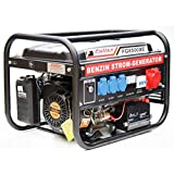 Stromerzeuger FG-8500XE Elektrostart mit 3.0 kW Dauerleistung für Gartenbereich sowie Freizeit- und Campingaktivitten.