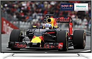 Hisense 65 inch Widescreen 4K Smart LED TV with Freeview HD - Black