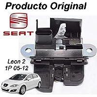 Silk-Recambios Cerradura Maletero porton Seat Leon 2 1P1 (05-12) Original Seat 1P0827505A