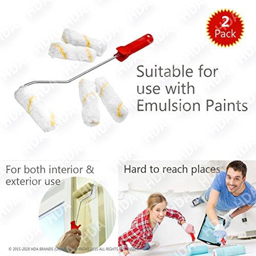 -juego-de-2-rodillos-de-pintura-acabado-con-textura-de-covers-adecuado-incluso-con-emulsion-pintar-s