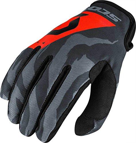 guanti mtb scott Scott 350Race MX Motocross/DH Bicicletta Guanti Grigio/Nero/Arancione 2017