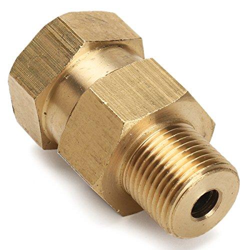 ChaRLes 3/8 Zoll Bsp Messing Hochdruckreiniger Swivel Adapter männlich zu weiblich Schlauch Coulper Fitting -