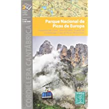 Parque Naciobal de Picos de Europa, mapa excursionista. Escala 1:40.000. Español, Français, English. Alpina Editorial.