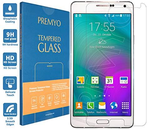 PREMYO Vetro Temperato per Samsung Galaxy A7 Pellicola Protettiva per Galaxy A7 Protezione Schermo Compatibile con Samsung A7 Durezza 9H Bordi 2,5D Anti-Graffi Bolle Impronte