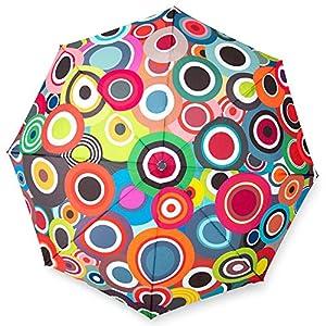 Remember Unisex – Ombrello Rondo Colorato Chiuso 29 cm Ø 5,5 cm Dimensioni Aperto: Lunghezza 58 cm Ø 100 cm