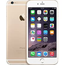 Apple iPhone 6 Plus - Smartphone libre de 5.5'' (Reacondicionado Certificado, 8 MP, RAM de 1 GB), color dorado