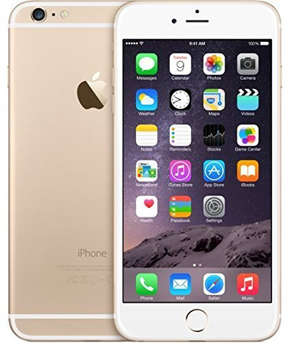 Apple iPhone 6 Plus, 5,5' Display, Sim-Free, 128 GB, 2014, Gold (Generalüberholt)