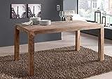SAM Esstisch Christel, Esszimmertisch 160 x 90 cm, Tisch aus Massivholz, sandfarbenes Akazienholz