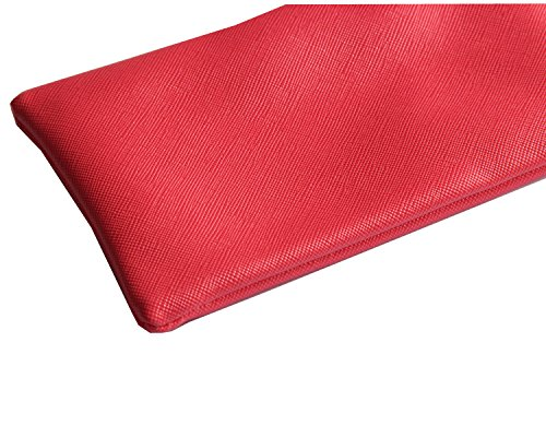 Women Men Eyeglass Case Sunglasses Bag Case Women Case Glasses Holder with Cleaning Cloth Glasses Red