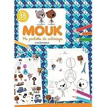 Mouk en Europe - Ma pochette de coloriages