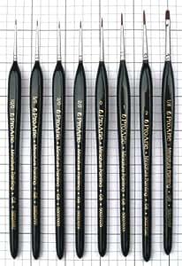 Pro Arte : Miniature Synthetic Watercolour Brush : Series MP : Size 10/0