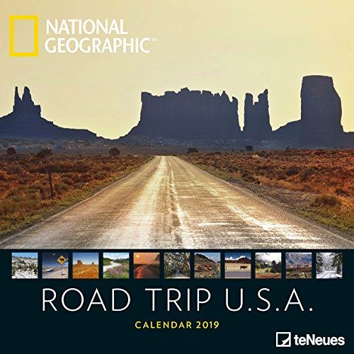 Road Trip USA 2019 - Landschaftskalender, USA-Kalender, Reisekalender, Wandkalender - 30 x 30 cm