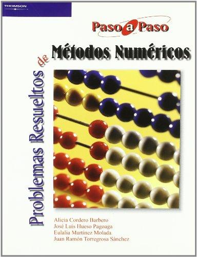Portada del libro Problemas resueltos de métodos numéricos