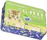 Scarica Libro Bocconcini biscotti per gatti fatti da te 50 schede con ricette e consigli per renderli felici Con gadget (PDF,EPUB,MOBI) Online Italiano Gratis