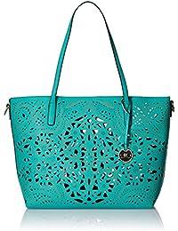 Diana Korr Womens's Shoulder Bag Handbag (Aqua) (DK64HGRN)