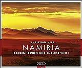 Namibia Kalender 2020: Goldene Dünen und endlose Weite