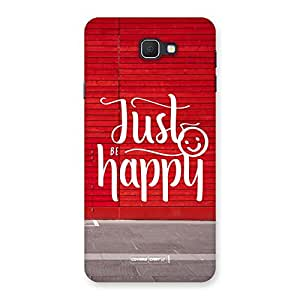 Be Happy Back Case Cover for Samsung Galaxy J7 Prime