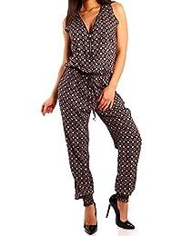 Young-Fashion - Pantalón térmico - relaxed - Paisley - para mujer