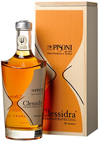 Distilleria Pisoni Grappa Clessidra Stravecchia (1 x 0.7 l)