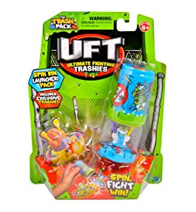 Giochi Preziosi 70684321 - Trash Pack Uft Kreiseltonne mit Figur, blau