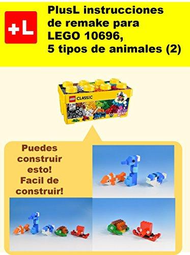 PlusL instrucciones de remake para LEGO 10696,5 tipos de animales (2): Usted puede construir 5 tipos de animales (2) de sus propios ladrillos por PlusL