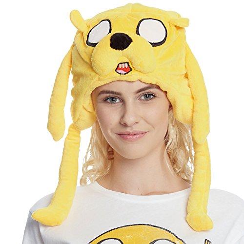 Adventure Time Jake Plüsch Mütze gelb (Adventure Time Jake Mütze)