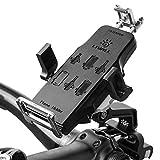 Livall Unisex H2Premium Bike Mount per Manubrio Bicicletta con 360Rotazione del Telefono, Adatto per 4-6Pollici Smartphone iOS Android, Nero