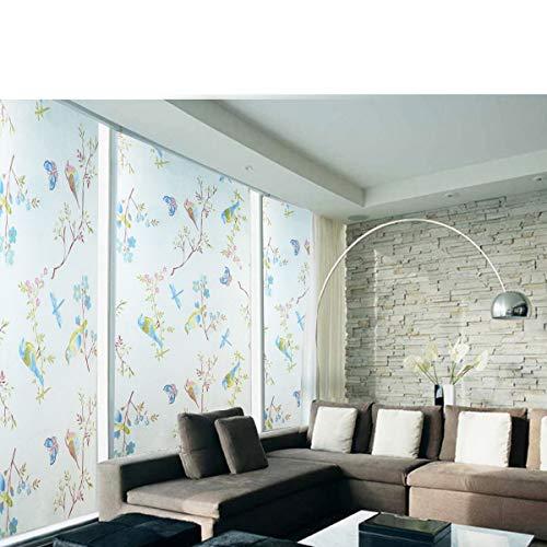 YIWAN Elektrostatische matt glasmalerei Film Fenster Aufkleber Glas Aufkleber Landschaft 45 * 200 cm